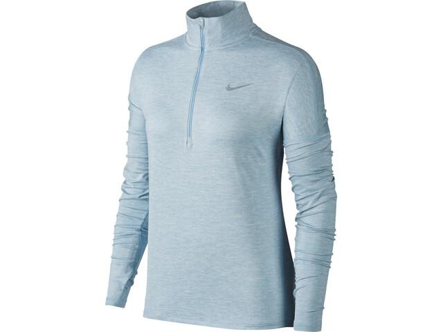 Nike Dry Element - Camiseta manga larga running Mujer - azul